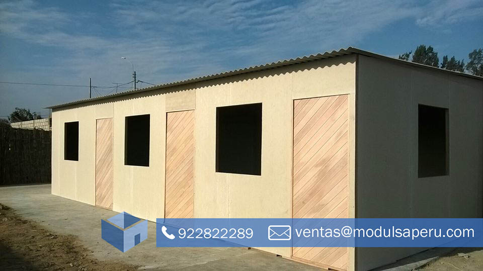 Modulos Campamentos De Madera Prefabricada Modulsa Peru