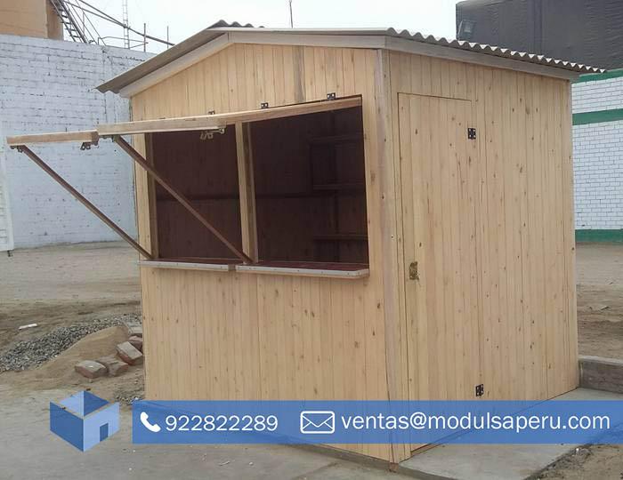 Kioscos Prefabricados De Madera Para Puntos De Venta