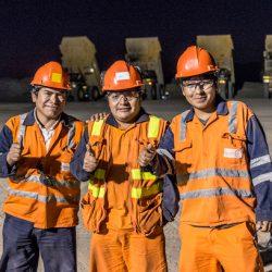 instalacion de modulos de mina